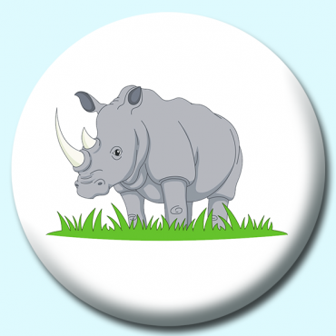 58mm Rhino Button...