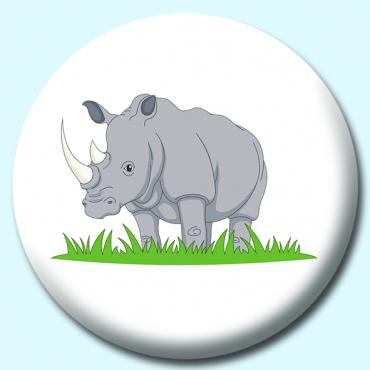 75mm Rhino Button...