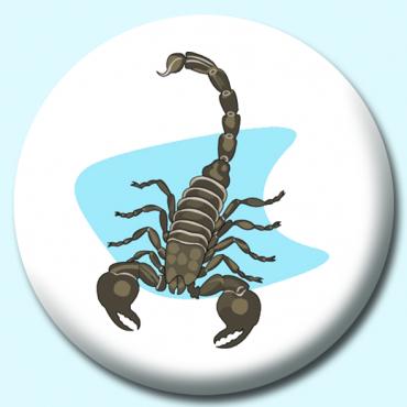 58mm Scorpion Button...