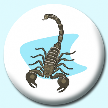 25mm Scorpion Button...