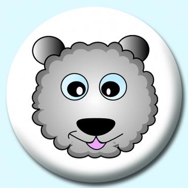 75mm Sheep Button...