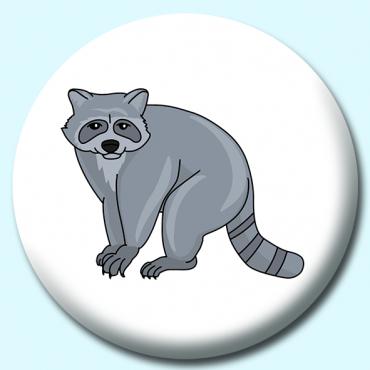 75mm Sitting Raccoon...