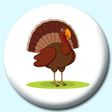 25mm Turkey Button...