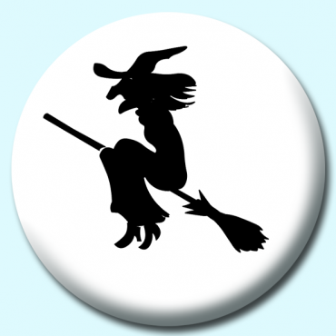 58mm Witch Silhouette...