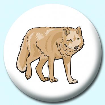 25mm Wolf Button...