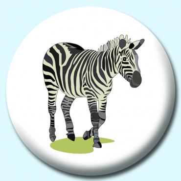 38mm Zebra Button...