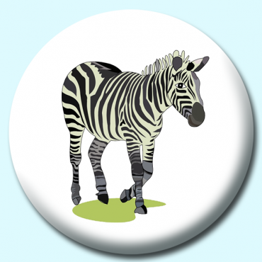 25mm Zebra Button...